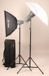 Комплект освещения Visico VL PLUS 300 Softbox Umbrella Kit с сумкой